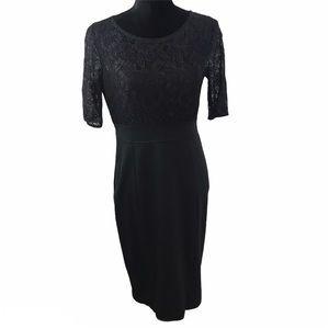 eva mendez New York & Company lace dress Sz 8